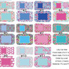 Wholesale Monogrammed Lilly Inspired Car Mats