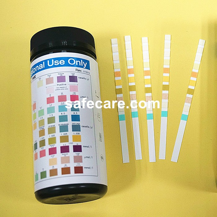 Adulteration OXI/SG/PH/NIT/GLUT/CREA SG ADU Test Strip