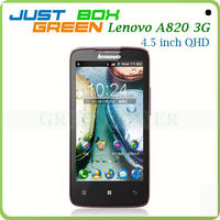 Hottest Cell phones Lenovo A820 MTK6589 Quad core 1.2GHz 4.5'' IPS Screen 1GB 4GB Android 4.1 OS Dual sim card dual Standby.
