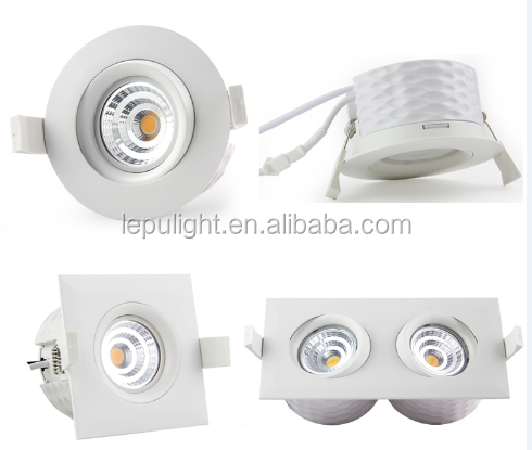 Ra99 hoting selling in Norway Sweden low voltage led downlight dimmable 83mm cutout passed CE&Nemko