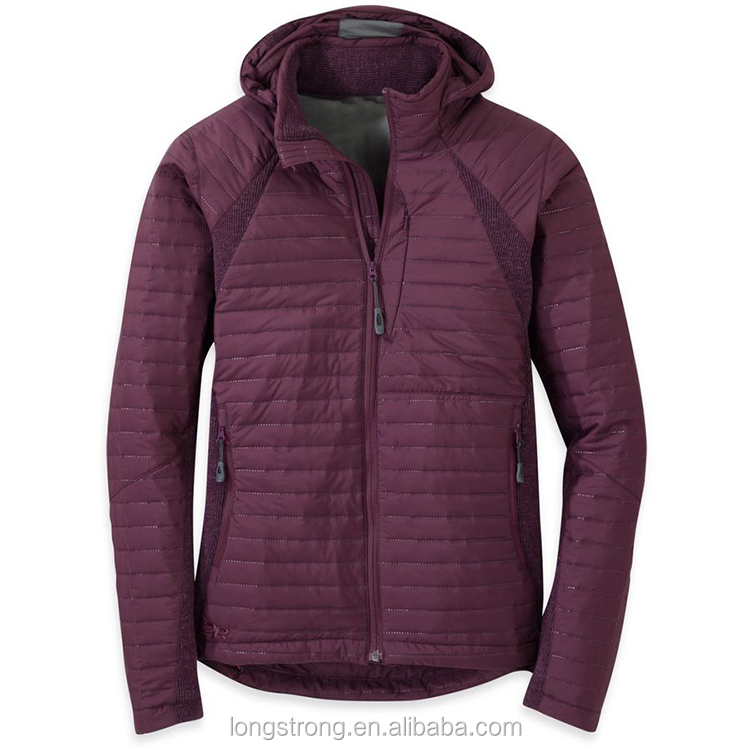 LS816 Hot sale winter outdoor designer famous brand padding jackets for women