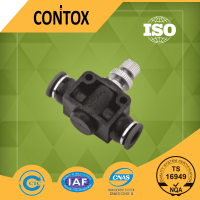 A302 NSF Angricht plastic Pneumatic fitting speed controller valve connector check valve stop valve