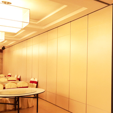 Hanging Soundproofing Partition Walls, Sliding Wall Partitions, Restaurant Movable Walls Panel