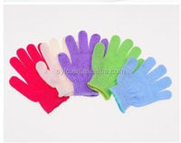 Baby bath gloves protect skin,Professional washing gloves massage rubbing gloves.