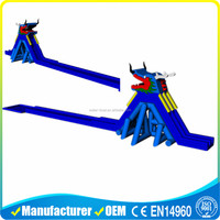 Commercial Grade Giant Inflatable Dragon Water Slides For Adult