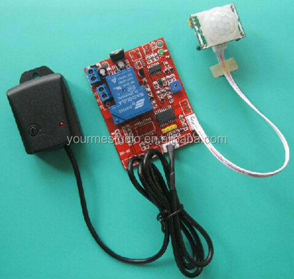Professional Manufacturer 12V High Sensitivity Adjustable Shock Alarm Vibration Delay Body Sensor Switch Module