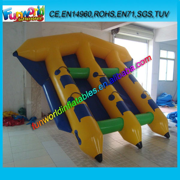 Hot Selling Fly Fishing Boat Inflatable Water banana boat