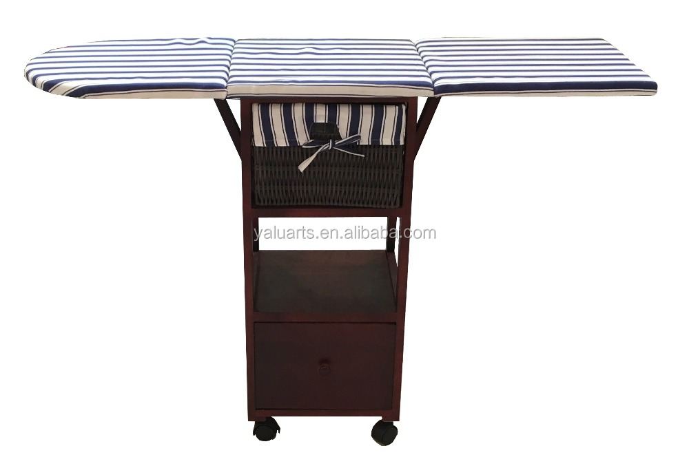 Small style Ironing Cabinet Clothes Folding Ironing Board H-1350234