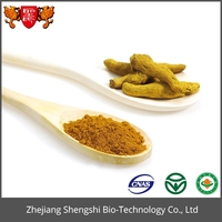 High quality ginger root extract powder with curcumin