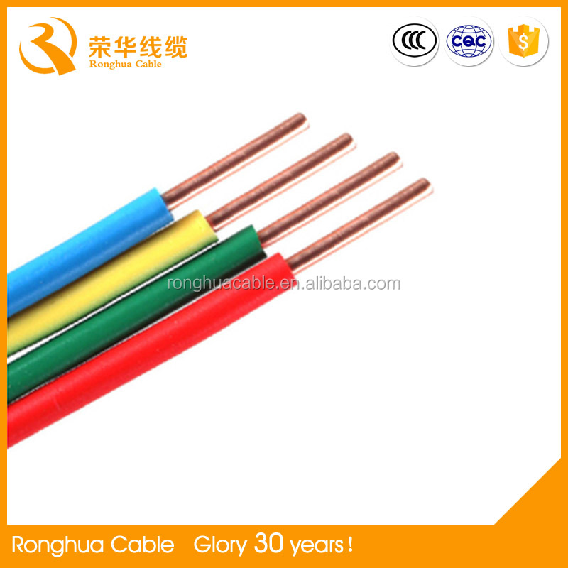 PVC Insulation Material and Low Voltage Type electric wire cable prices