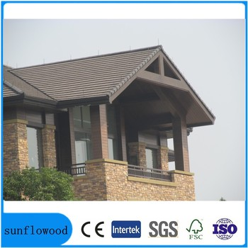 wood plastic composite wpc wall panel, exterior wall cladding