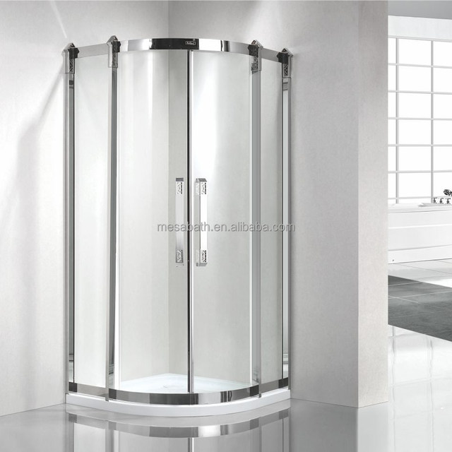 2017 New luxury sector shape hydro massage bath shower cabin in bathroom