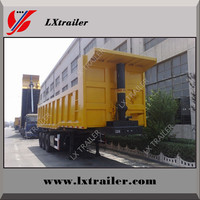 Dump truck for sale in dubai for coal/ore/building materials transportation with rear optional