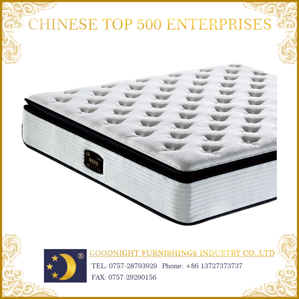 2016 super comfort WA706 knitted fabric box spring bed mattress