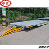 Industry plant transport trailer tow hauler with towing hook