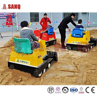 Indoor and Outdoor Amusement Park Small Bulldozer Rides for kids