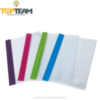 Clear plastic protective cover for book with flaps; color spine book cover