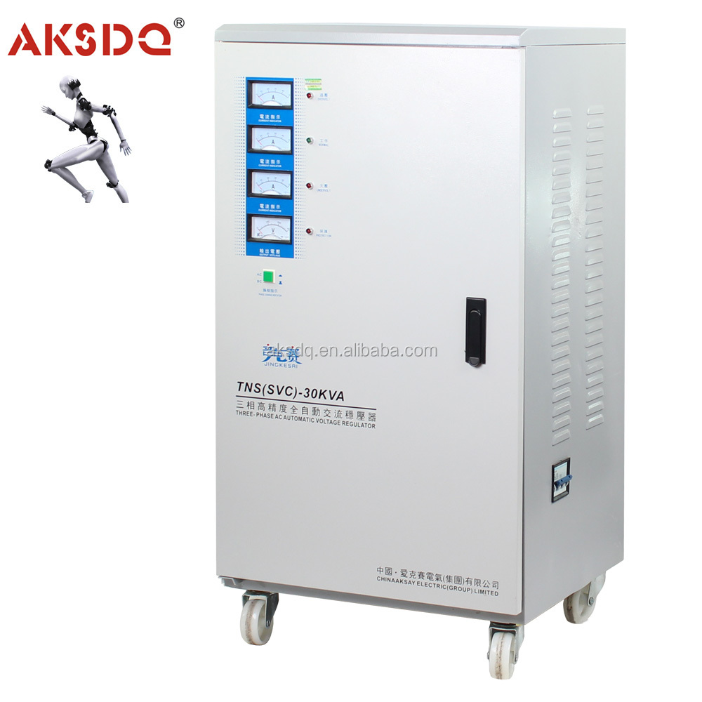 SVC 3 phase 20KW copper wire automatic voltage stabilizer for lift