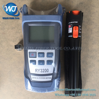 2 In1 FTTH Fiber Optic Tool Kit RY3200 Optical Power Meter -70 + 10dBm and 10km 10mW Visual Fault Locator Fiber optic test pen