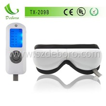 2014 Hot Sale Folding Air Pressure Relax Eye Vibrator TX-209B