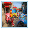 Cheap Outdoor playground equipment amusement tourist rail car rides Animal Pedal Car