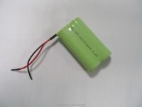 2.4V AA NI-MH rechargeable battery pack d