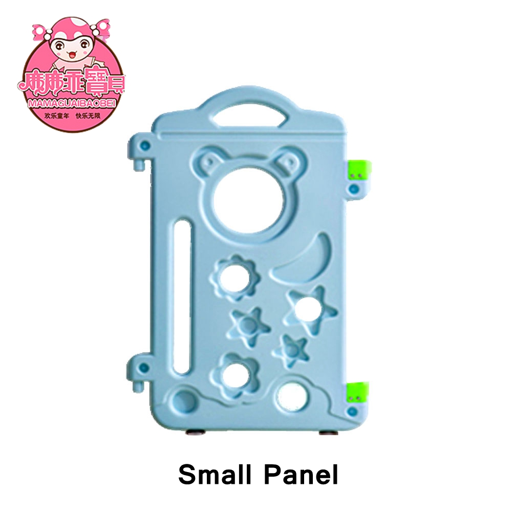 M-03 Small Panel Blue Color Folding Playpen For Pets And Dog Playpen