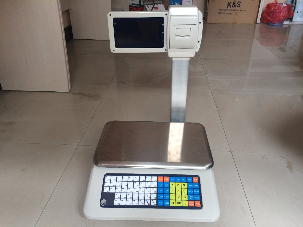 electronic commercial dried fish / commercial fruit scale