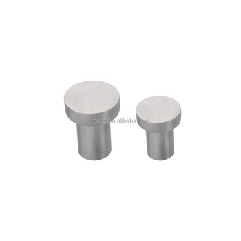 Stainless steel Brushed Solid furniture door knob