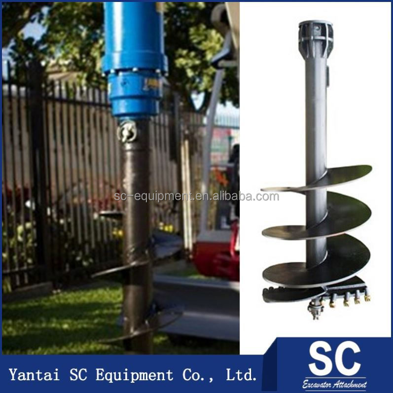 Best Selling Post Ground Hole Drill Soil Ice Digger SC3000 Sc2000
