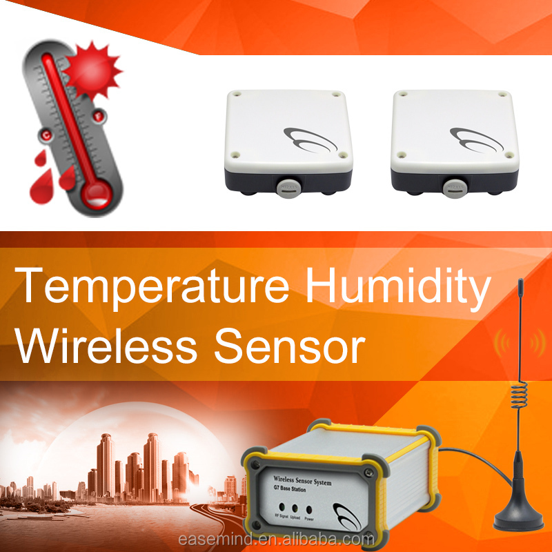 greenhouse temperature and humidity sensor for electronics data logger Wireless