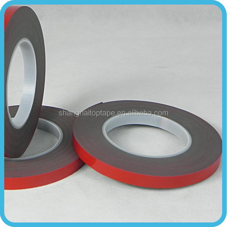 Easy stick abrasion resistant custom acrylic self adhesive tape