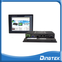 "DT-P104-I Industrial fanless computer 10.4"" touchscreen pc rugged tablet with I3/I5/I7 CPU 2GB RAM widely use in industrial line"