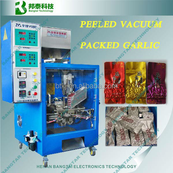 Tea bag vacuum packing machine, peeled vacuum packed garlic