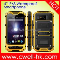 Improved model rugged phone land rover a8 android 4.2 ip68 with NFC function
