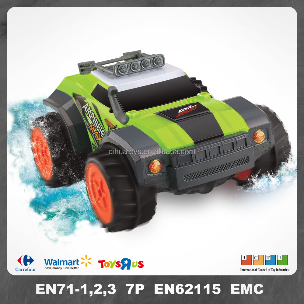 4 Channels Powerful RC Amphibious Car Vehicles for with Light