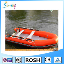 2016 Sunway Foldable Inflatable Boat Large North Pak Inflatable Fishing Boat