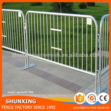 On Time Delivery Galvanized Crowd Control Barrier Movable Fence