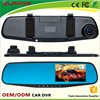 Full HD 1080p G-sensor CE, ROHS, FCC,KCC certificates AV-out WDR motion detect Rearview mirror car camera for skoda octavia