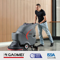 GM56BT Hand Push Electric Auto Single Disc Floor Polisher Scrubber