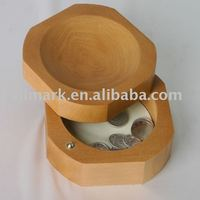 wooden coins tray,coin holder