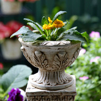 Ceramic Flower Pot Artificial Potted Plants