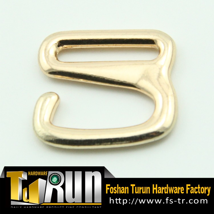 Wholesale Fashion Metal Hook Slider Buckle For Bags