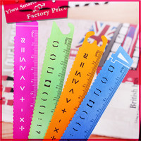 New Fashion Design stationery from china straight study tool number metal scale ruler