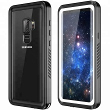 Wholesale Waterproof Case for Samsung S9, Hybrid Drop Protection Clear Mobile Phone Case for Samsung Galaxy S9