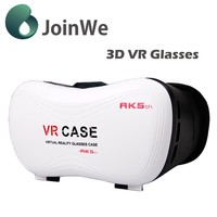 Best price Vr box 5.0 Fit fo 3.5-6 inch phones with bluetooth VR CASE 5th