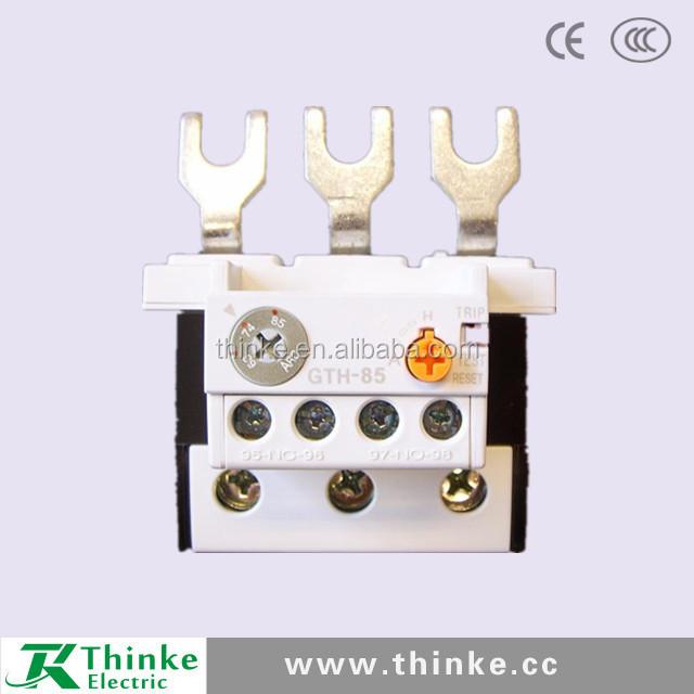 GTH85 thermal relay thermal overlaod relay, AC contactor relay, contactors and relays