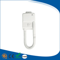 Commercial Hygienic supplier bathroom wall mounting ABS Plastic body dryer hair dryer hotel AC220V
