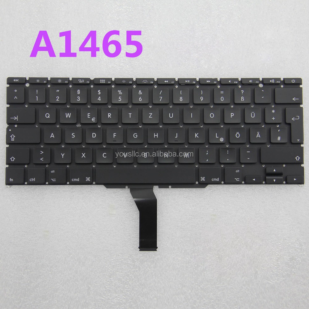 "Replacement New original laptop keyboard for Macbook Air 11"" A1370 A1465"