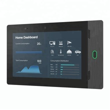 <strong>10</strong>&quot; House Automation In Wall Flush Android POE Tablet With LED Light